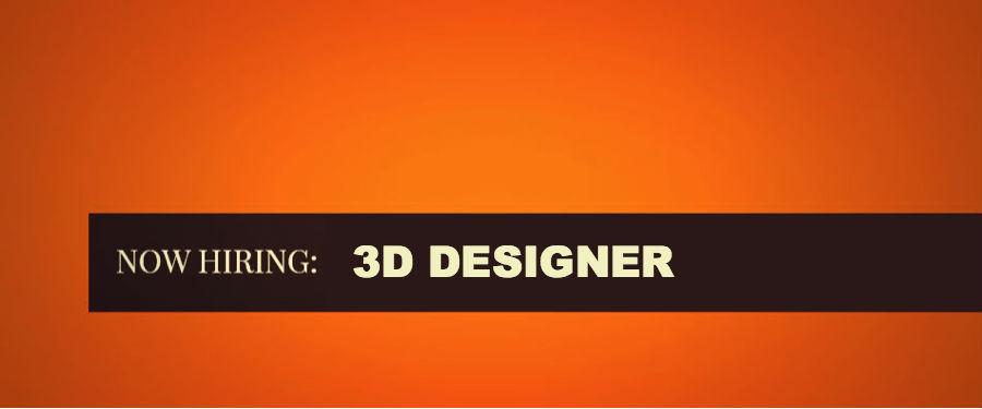 AMG indusrial design team hiring 3D Designer