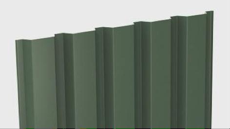 Metal sheet siding system