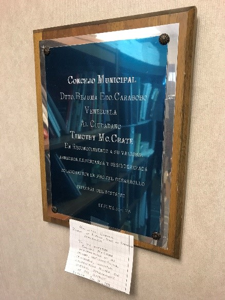 tims plaque